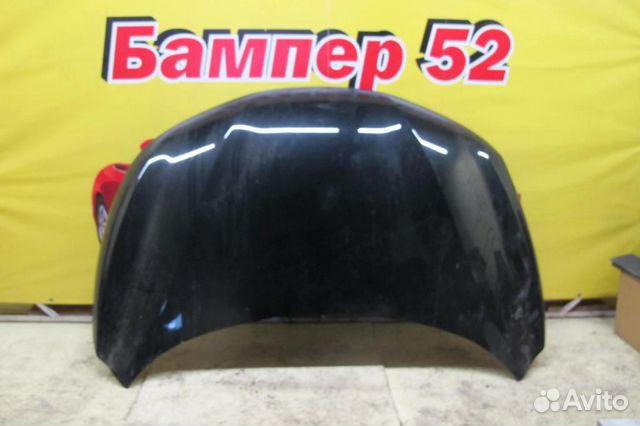 89524408730 Nissan Qashqai (J11) 2014) Капот черный