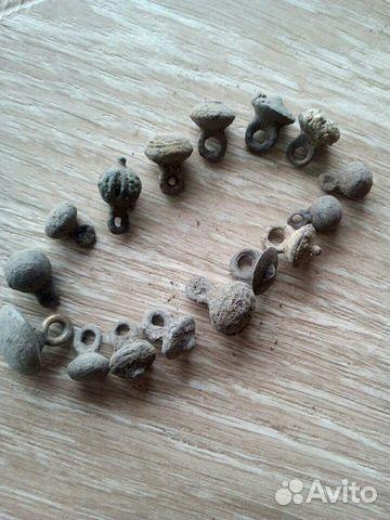Пуговицы-гирьки,оригинал,древность