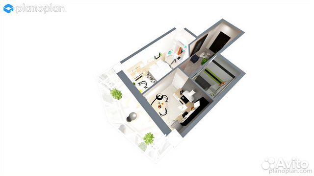 1-к квартира, 34 м², 24/25 эт. купить 7