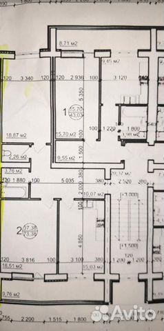 2-к квартира, 80.8 м², 3/5 эт.  89807120806 купить 1