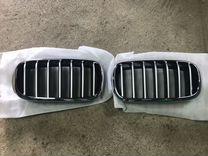 Решётки радиатора BMW X6 F16 (Тёмный хром)