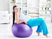 Фитбол для беременных 65 см до 120 см