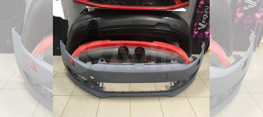 Бампер передний Volkswagen Polo Hatchback под омыв купить в Санкт-Петербурге | Запчасти | Авито
