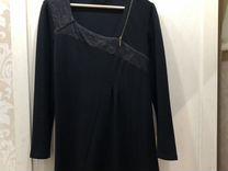 Платье чёрное классика