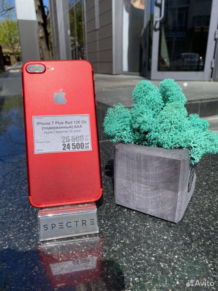 iPhone 7Plus Red 128 gb Original Рассрочка Доставк  89527999199 купить 1