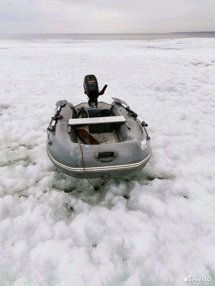 Лодка пвх-285. Матор HDX-5  89681480167 купить 4