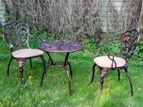 Комплект литой мебели №1
