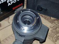 Sigma 135-400 4.5-5.6 APO DG для 4\3 (микро4\3)