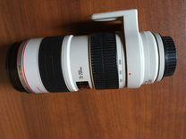 Объектив Canon 70-200 со стабом