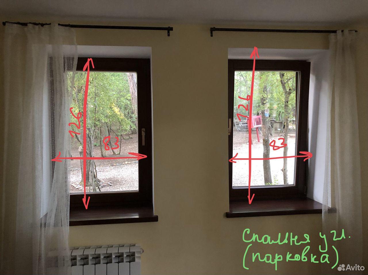 Окна высокого качества темно-коричневые