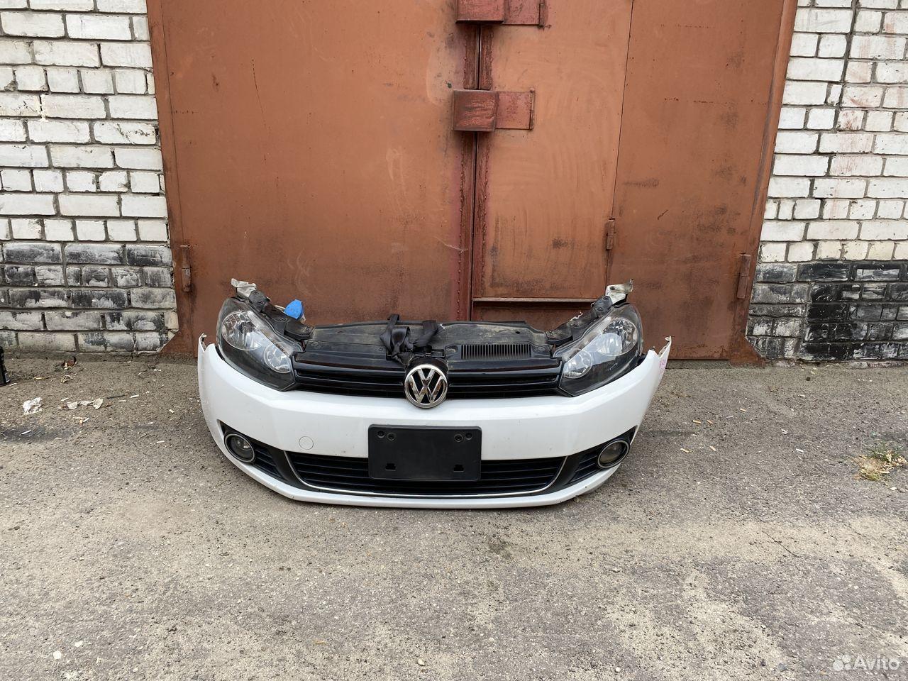 Ноускат белый Volkswagen Golf 6  89534684247 купить 1
