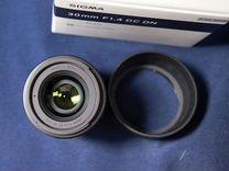 Sigma 30mm f/1.4 DC DN для Sony E