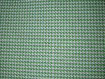Плотная ткань зеленая,хорошего качества