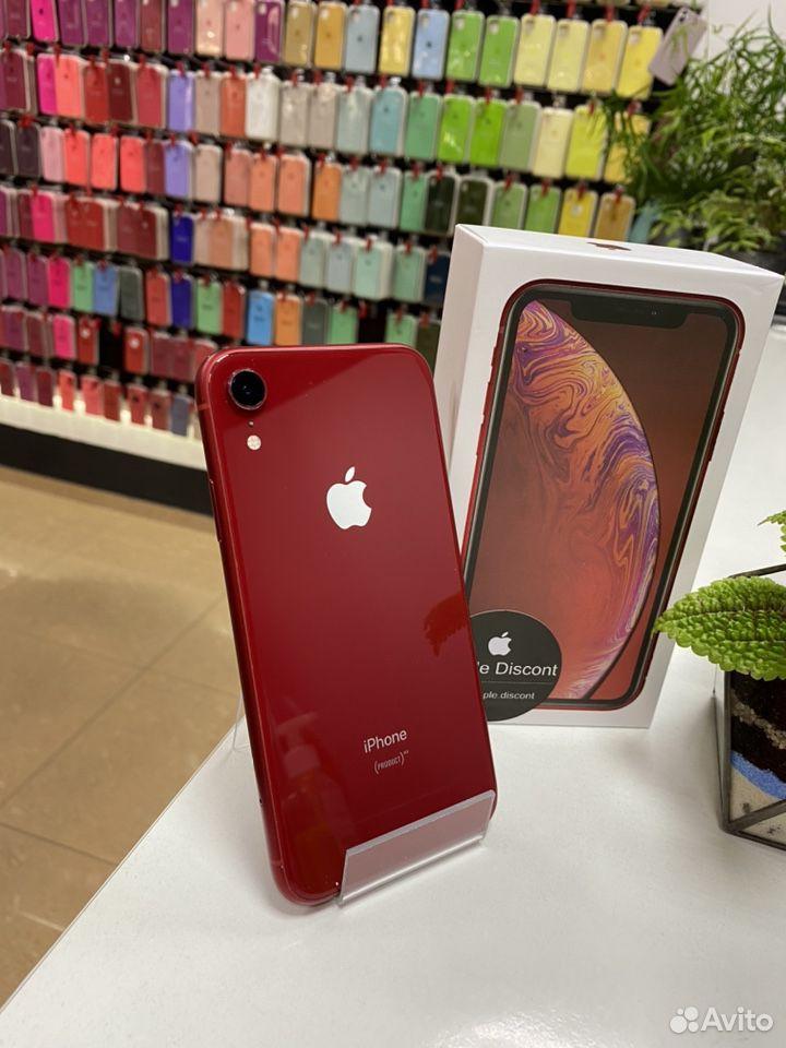 iPhone xr 64GB красный  89024155999 купить 2