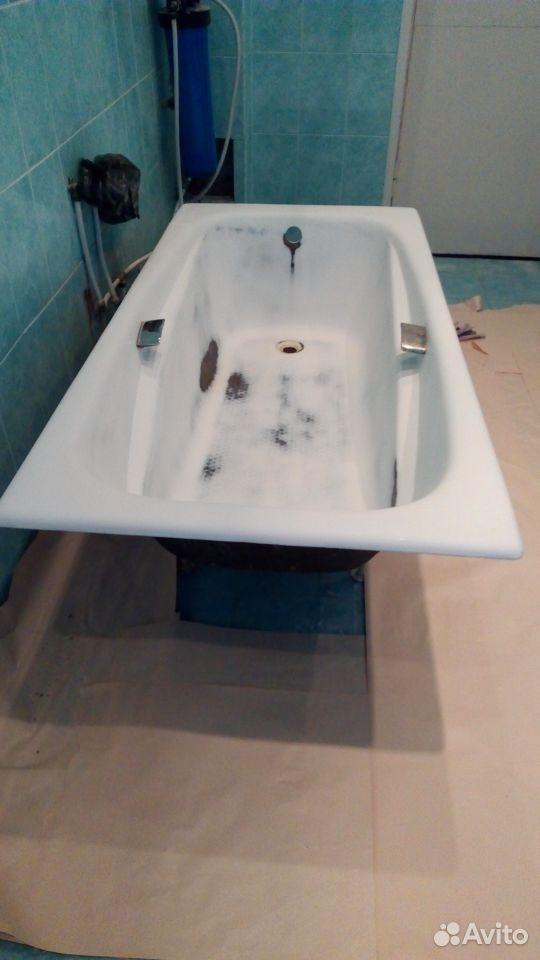 Обновление ванн, жидкий акрил,эмалировка, эмаль  89201527666 купить 5