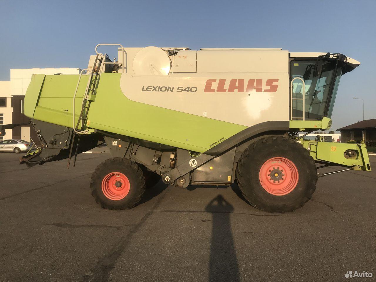 Claas lexion 540 2008 год выпуска  89205635546 купить 3