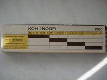 Карандаши Koh-i-noor (нв, В, Н), Полицвет СССР