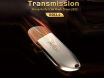 Новая Флешка Netac U352 USB 3.0 32GB