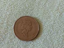 Монета canada dollar