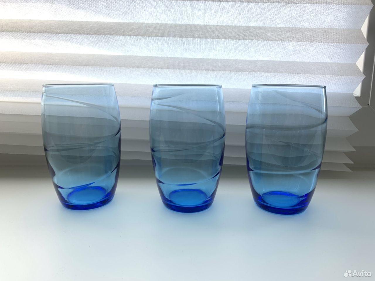 Тонкие французские стаканы Luminarc 3 шт  89210916109 купить 2