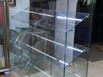 Витрина из стекла для пекарни