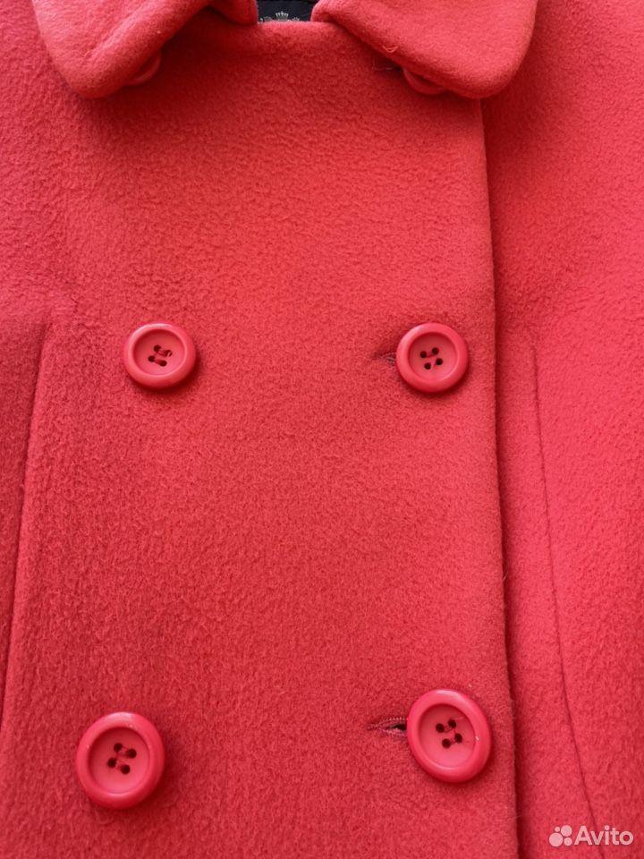 Пальто для девочки, Del Lago, 158, Италия, шерсть  89053212536 купить 3