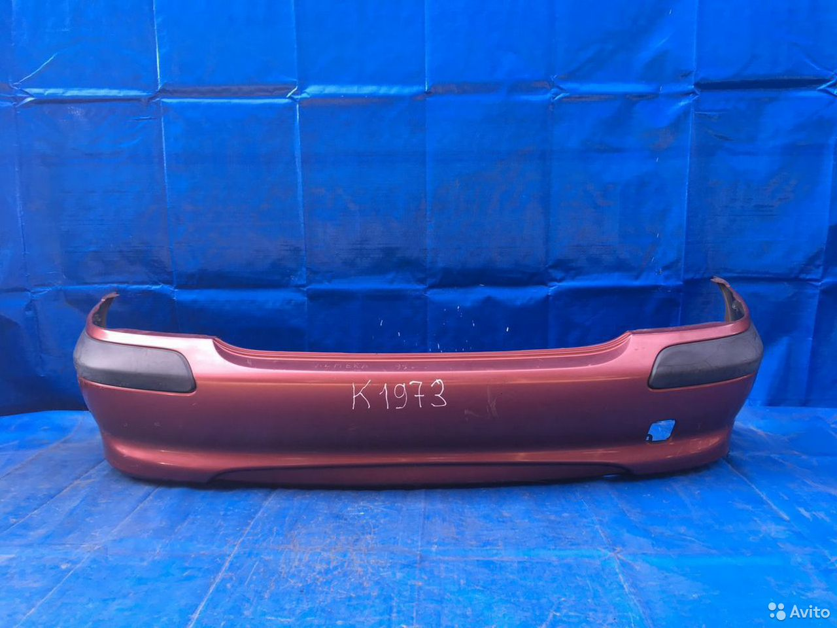 84732022776  Бампер задний Nissan Almera N16E 2000-2006
