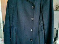 Пальто черное Zara Woman