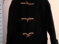 Дафлкот Ralph Loren зелёный чистая шерсть