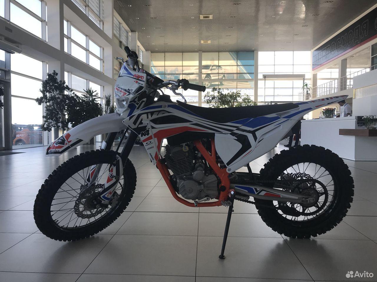 Мотоцикл kayo K4 MX 21/18 (2020 г.)  88792225000 купить 1