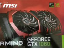 MSI GTX 1060 gaming 3Gb(торг)