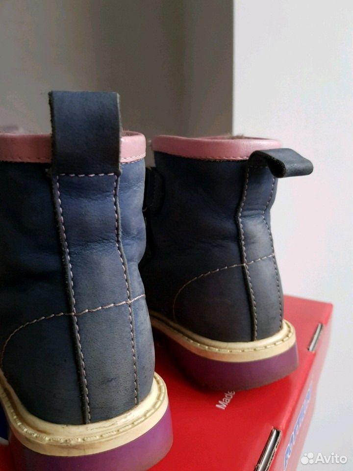 Зимние ботинки, натуральные кожа и мех  89102008752 купить 4