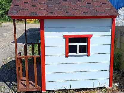 Детский домик для дачи