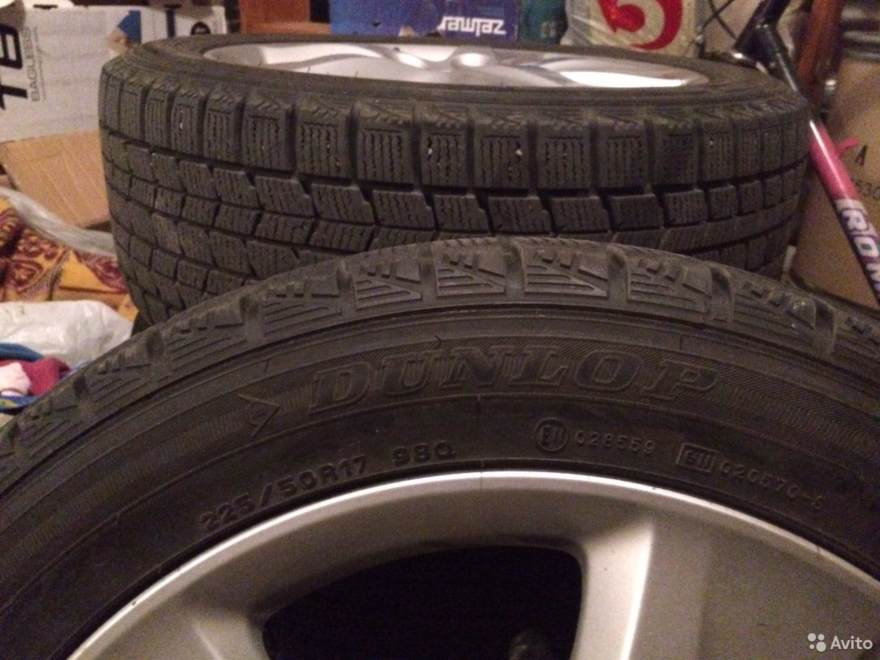 Зимние шины Dunlop Graspic DS3 225 50 r17  89066444959 купить 1