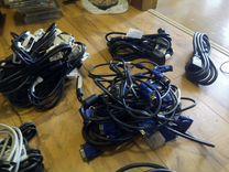 Сетевые кабели (всегда в наличии несколько)