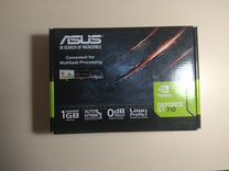 Видеокарта asus nVidia GeForce GT 710 1Гб gddr5