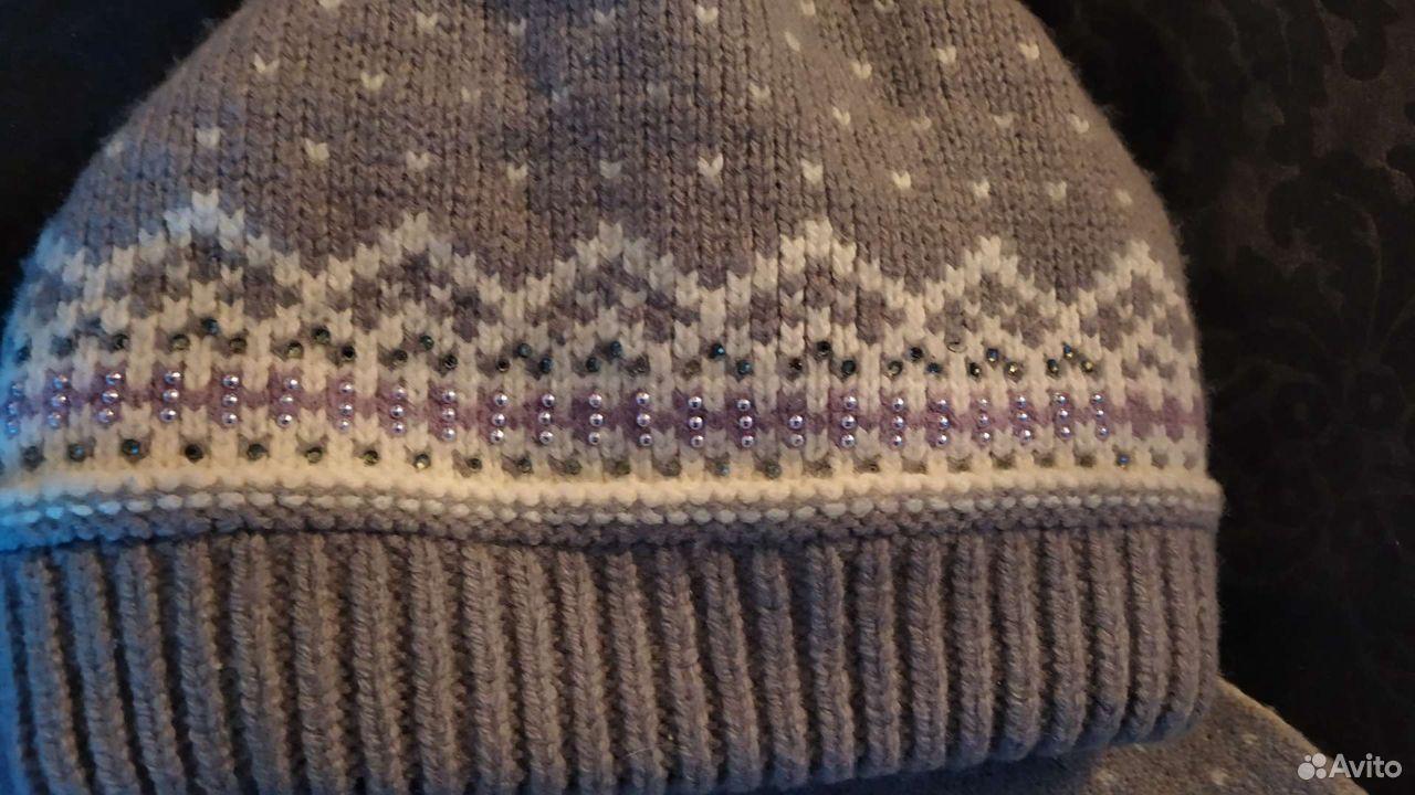 Комплект шапка+шарф  89103642984 купить 3
