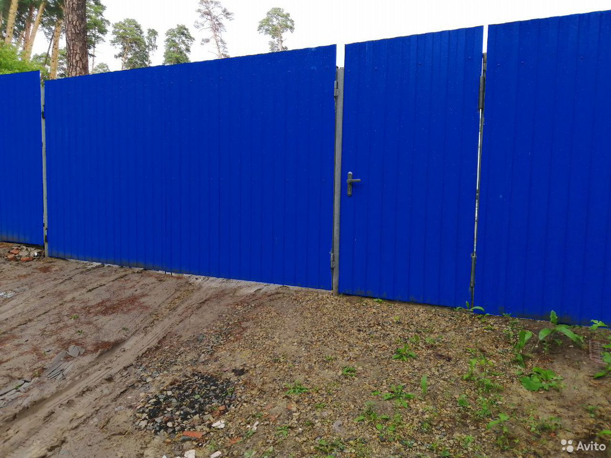 Сделаем забор, ворота из профнастила  89088373003 купить 4