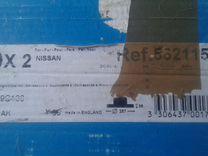 Диски тормозные новые Nissan (2 шт.) 562115J