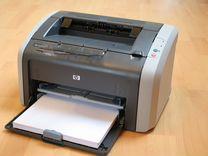 Принтер лазерные hp laser jet 1010