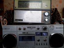 Магнитофон и магнитола (с советских времён) всё в
