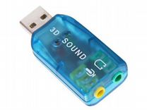 Звуковая карта (sound card) USB C-media Trua3D