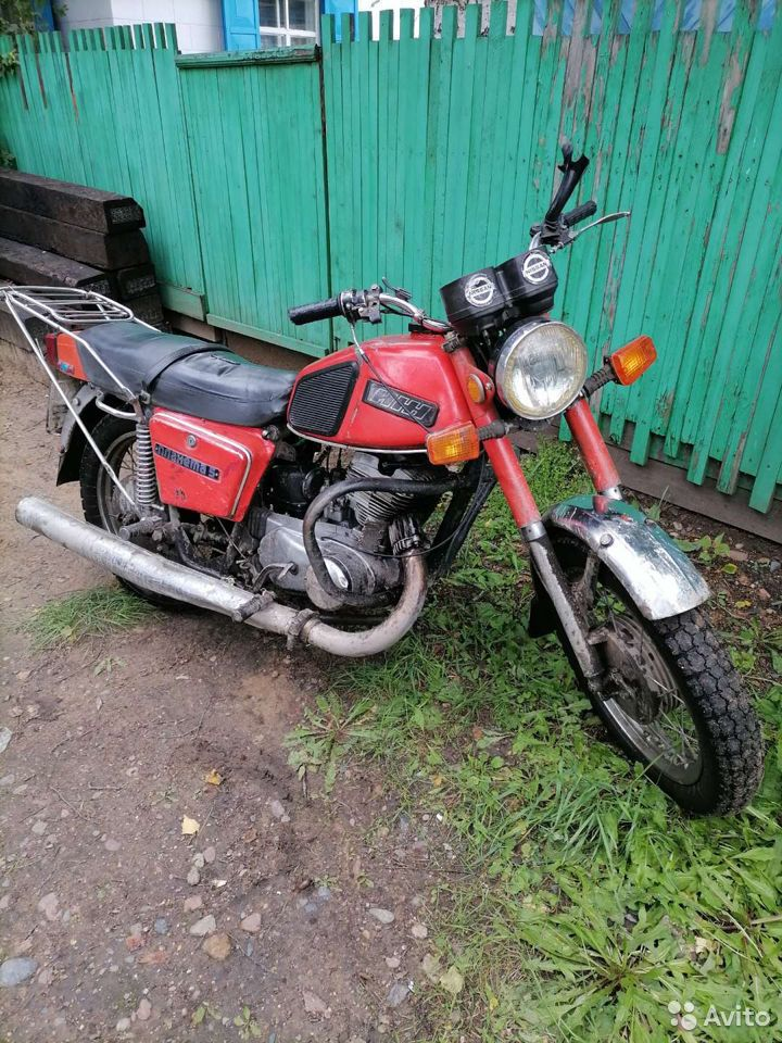 Продам мотоцикл иж планета 5