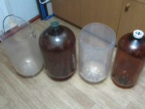 Бутыль пластиковый 20 и 30 литров