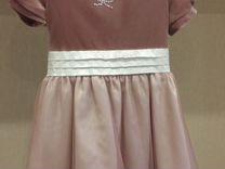 Платье на подкладе 98-104