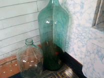 Бутыль стекляный