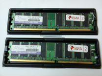 Модули памяти Jram PC 400 1GB